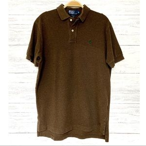 Polo Ralph Lauren Heather Brown Short Sleeve Shirt